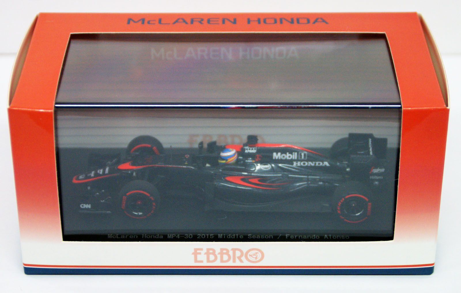 Ebbro 45326 McLaren Honda MP4-30 2015 Middle Season   Fernando Alonso  scale