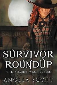 Survivor-Roundup-Paperback-by-Scott-Angela-Brand-New-Free-P-amp-P-in-the-UK