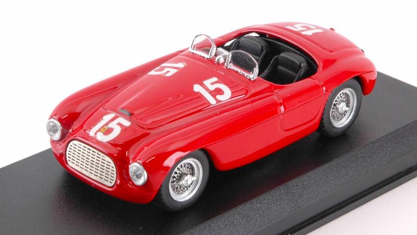 Ferrari 166 Mm  15 Winner Luxemburg  Gp Findel 1949 Luigi Villoresi 1 43 Model  articles promotionnels