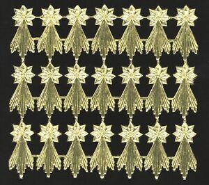 alter-Bogen-Dresdner-Pappe-Kometen-Sternschnuppe-gold-gepraegt-DIE-CUT-SCRAPS