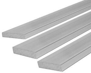 Aluminium-Flach-Profil-Alu-Flachstange-Flachmaterial-Aluprofil-Stange