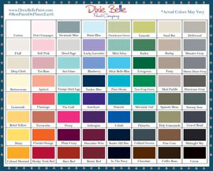 Dixie-Belle-Kreide-Mineral-Paint-Neu-Versiegelt-8OZ-Jar