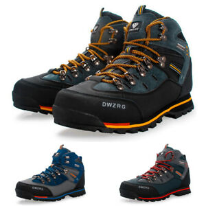 Details about Mens Big Size Waterproof Trail Hiking Boots Fashion Antiskid  Walk Outdoor Shoes