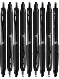 Uni-Ball-Signo-307-Medium-Point-Retractable-Rollerball-Pens-Black-9-Count