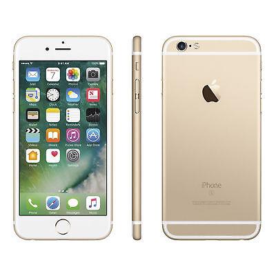 Apple iPhone 6s - 32GB - Gold (Unlocked) A1633 (CDMA + GSM) Sealed, Warranty