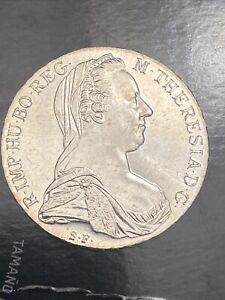 Uncirculated 1780 Austria Maria Theresa Restrike Silver Thaler