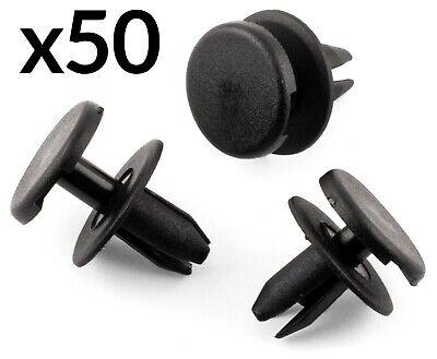 50x BUMPER PLASTIC RIVET CLIPS VAUXHALL ASTRA G H C SIGNUM VECTRA MK3 MK4 MK5