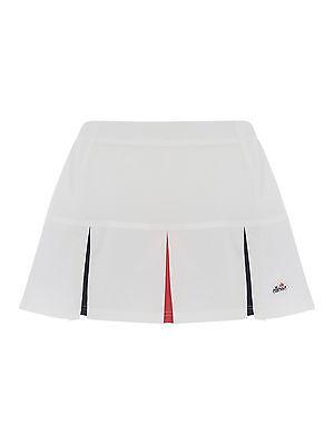 Ladies ellesse polyester Slice Tennis Skort - white
