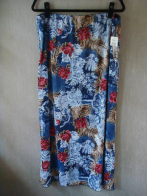 NWT Womens John Paul Richard Long Floral Skirt Size XL for Sale