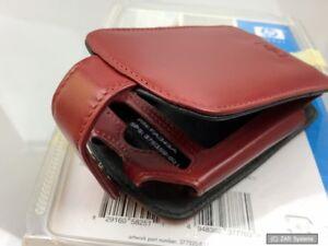 Original-HP-FA349A-Leder-Guerteltasche-fuer-PAQ-RZ1710-und-RX3000-PDA-Rot-NEU