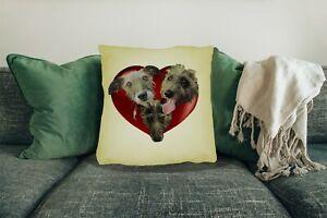 Lurcher-Dog-Cushion-Cover-Big-45x45cm-18-034-x18-034-Dog-Xmas-Gift-Choose-your-Design