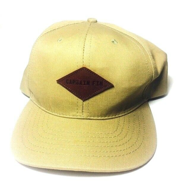 ea7162b70a861 Captain FIN SnapBack Baseball Cap Style Hat With Leather Logo Made In The  USA