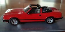 Neo Scale Models 1:43 Reliant Scimitar GTC Convertible Red RHD New Resin Model