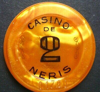 Casino De Neris 2 Francs Jeton Néris Les Bains,auvergne/france Feines Handwerk