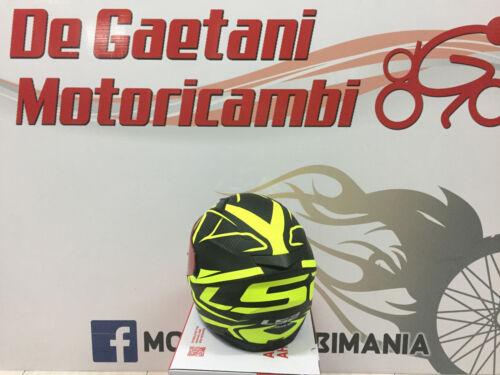 CASCO LS2 HELMET INTEGRALE FF320 STREAM EVO GIALLO VISIERA PARASOLE INTERNA
