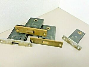 Details about 4 Vintage Yale Mortise Lock Cases for Parts or Repair