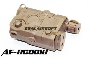 PEQ-15 Dummy Battery Case  Weaver 20mm Rail /& Airsoft Battery Size75x55x20mm TN