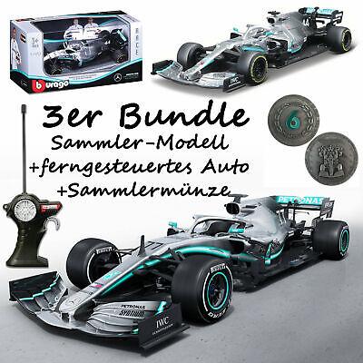 F1 Mercedes AMG Petronas Formel1 Bundle R/C Modell Sammlermodell Sammlermünze