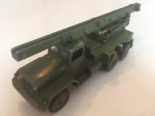 MILITARY LORRY / TRUCK ORIGINAL VINTAGE OLD DINKY SUPERTOYS DIECAST TOY CAR  ZT