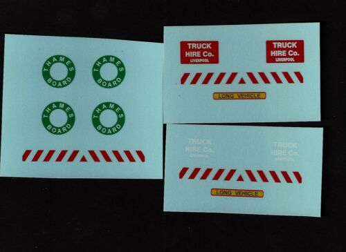DINKY 915 AEC FLAT BED TRAILER TRANSFERS//DECALS