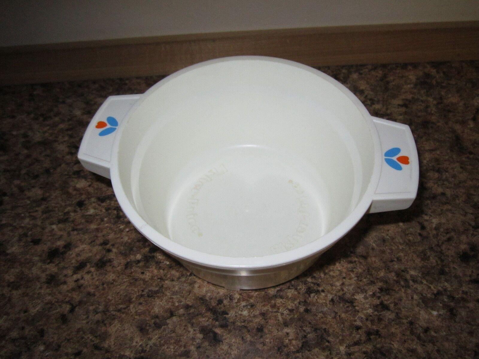 Fisher Price Fun with Food deep pan mixing cooking pot dish pan deep flower pasta pan toy 93ac6a