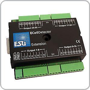 ESU 50095 ECoSDetector Erweiterung 32 Ausgänge (LED, Birnchen)