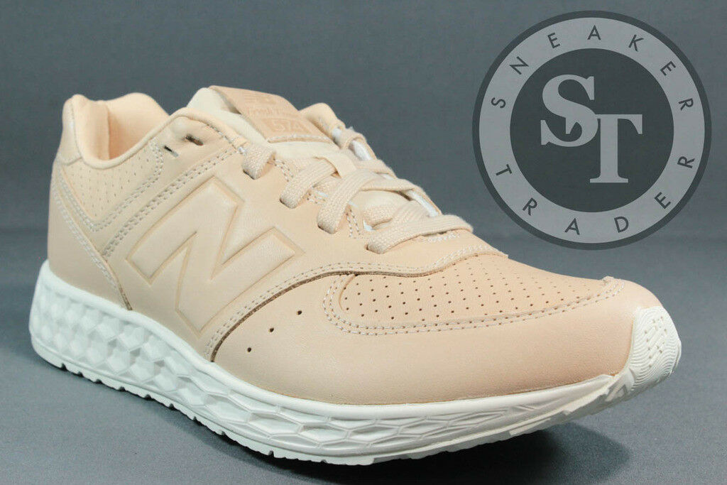 NEW BALANCE LIFESTYLE MFL574TA FRESH FOAM TAN WHITE DS SIZE: 8.5