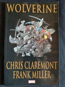WOLVERINE-By-Frank-Miller-amp-Chris-Claremont-Paperback-Good-Condition