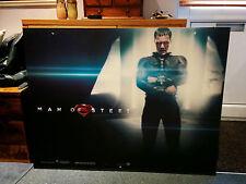 SUPERMAN: MAN OF STEEL 102 x 77CM MOVIE FILM PREMIER BILLBOARD CARD POSTER!