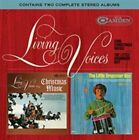 Sing Christmas Music/The Little Drummer Boy by Living Voices (CD, Nov-2015, Real Gone Music)