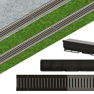 OSKAR-Entwaesserungsrinne-STAHL-A15-Stahlrost-1-5t-1-m-Bodenrinne-Tiefe-90mm-SET