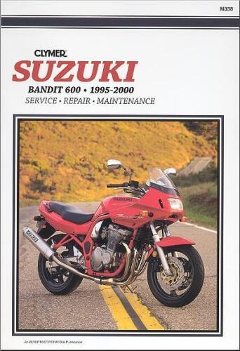 1995-2000 Suzuki Bandit GSF600 GSF600S GSF 600 600S CLYMER REPAIR MANUAL M338