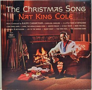 """Nat King Cole """"The Christmas Song"""" 1962 Vinyl LP Capitol SMX-1967   eBay"""