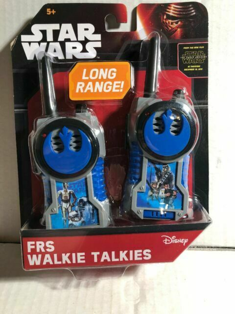 Star Wars The Force Awakens Series Battery Operated Walkie Talkie Toy Set