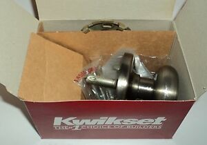 Black Decker Kwikset Door Lock Hancock Interior Pack New In Box Ebay