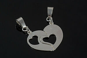 two-halves-of-the-heart-CHARMS-PENDANT-NECKLACE-BRACELET-silver