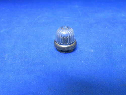 LC16CN3 DIALIGHT CLEAR PLASTIC LENS LIGHT  DRIP PROOF W// GASKET   NEW OLD STOCK