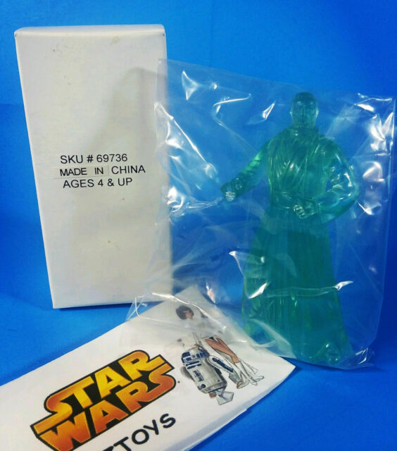 Vintage💥Star Wars💥FORCE GHOST BEN KENOBI💥Power Of Force Mail Away💥SKU #69736