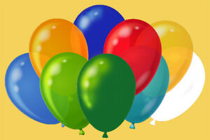 NEW-Pack-Of-50-Assorted-Party-Event-Balloons-Suitable-for-Helium-or-Air-Latex