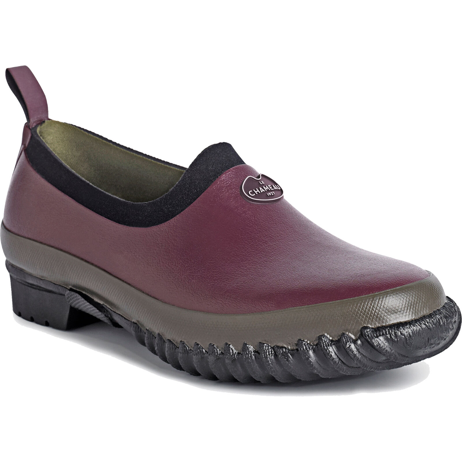 Le Chameau Colza Gardening Clog - Ladies - Cherry - UK 3 left - Now only