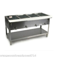 NEW 4 Well Electric Steam Table Duke AeroHot E304 Dry Bath NSF #1199 Food Hot