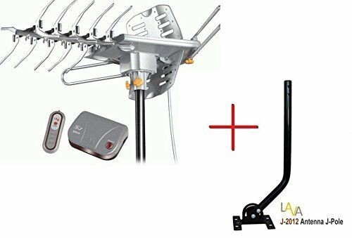 LAVA HD-2605 HDTV DIGITAL Outdoor TV ANTENNA HD UHF VHF FM with J-Pole Mount. Available Now for 89.95