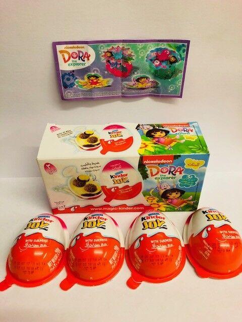 Kinder Surprise Dora The Explorer Toys Set & All BPZ QATAR 2016 2017 Mega Rare
