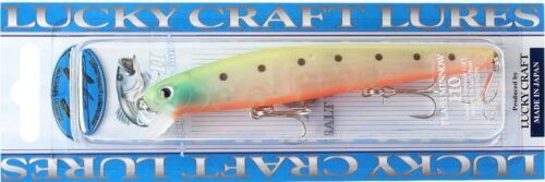 LUCKY CRAFT SW Flashminnow 110-753 Chartreuse Ghost Sardine