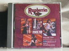 RASPBERRIES - POWER POP VOL. 2 INCLUDES: SIDE 3 + STARTING OVER - CD EXCELLENT+