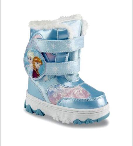 Disney Frozen Elsa Anna Winter Boots Girl Blue-Pink Toddler 10,11,12 13 NWT