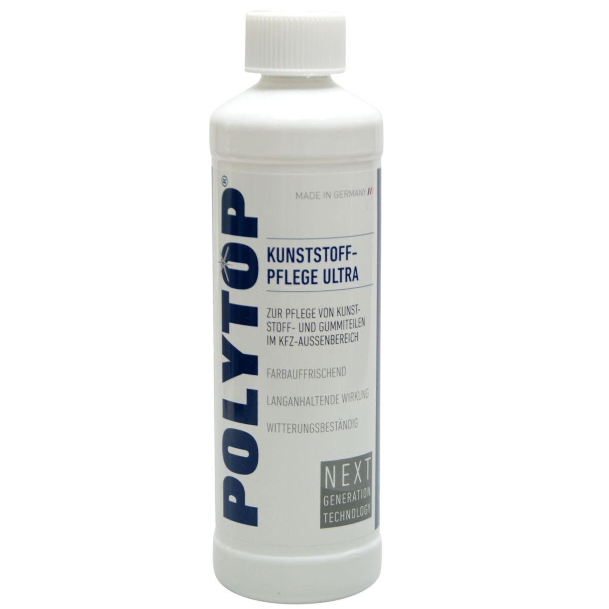 500 Ml Polytop Kunststoffpflege Ultra Gummipflege Im Außenbereich | eBay