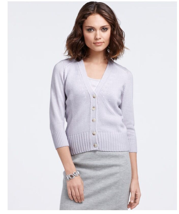 NWT NEW Ann Taylor 3 4 Sleeve Sweater Size Small S