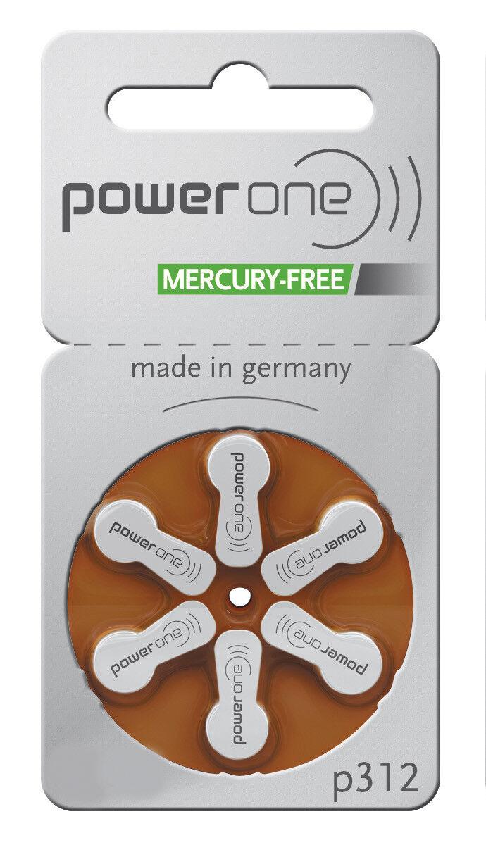 PowerOne PowerOne PowerOne Hörgerätebatterie Hörgerät Batterien ZL 10, ZL 13, ZL 312, ZL 675   Einfach zu spielen, freies Leben  5247cc