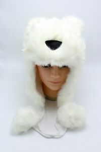 a73d93cba2e Image is loading New-Womens-Cute-Soft-amp-Warm-Polar-Bear-